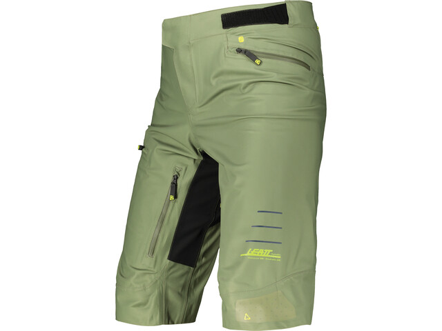 Leatt DBX 5.0 Shorts Men, Oliva